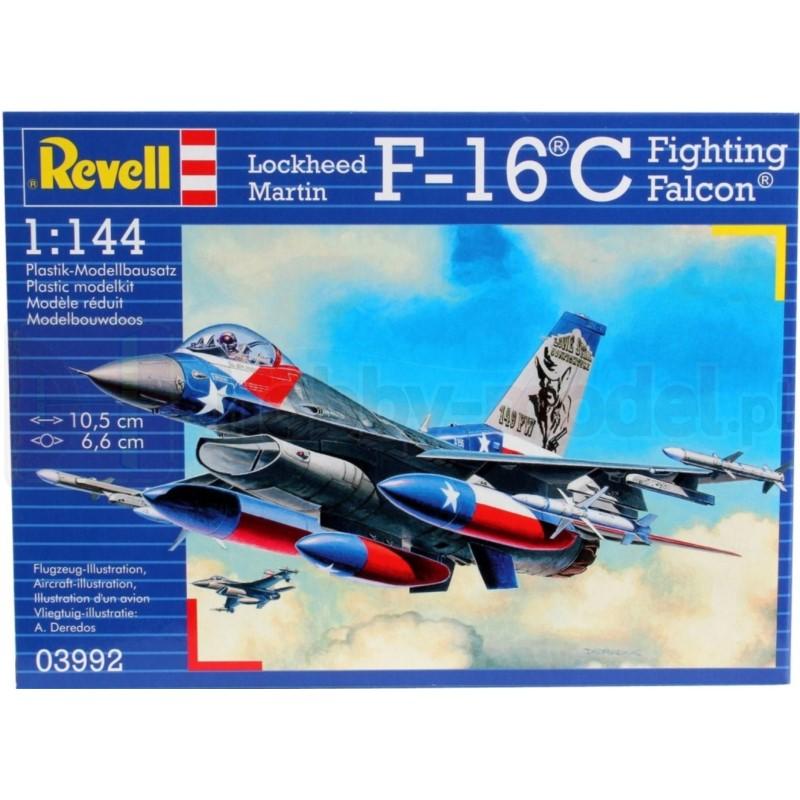 REVELL 03992 Samolot wielozadaniowy F-16 C USAF
