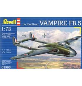 REVELL 03993 Odrzutowiec Vampire FB.5
