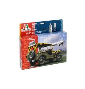 "ITALERI 70390 Pojazd Jeep ""Follow Me"""