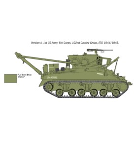 ITALERI 6547 Pojazd M32B1 Armoured Recovery Vehicle