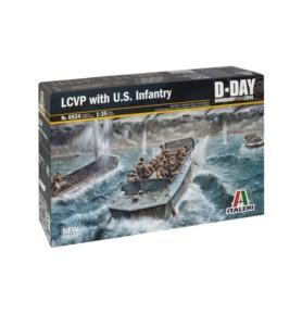 ITALERI 6524 Barka LCVP with US Infantry