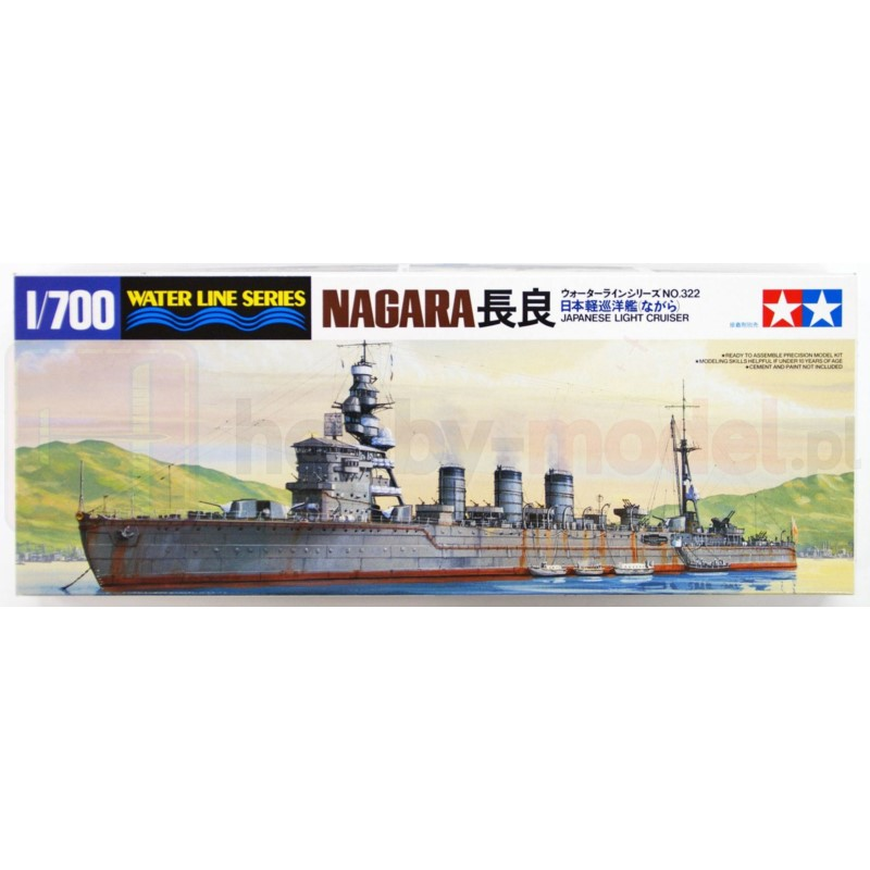 TAMIYA 31321 Krążownik lekki Nagara