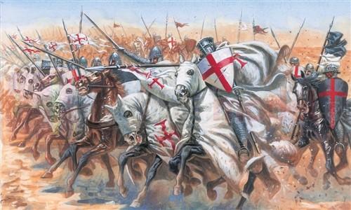 ITALERI 6125 Figurki Rycerze Templariuszy