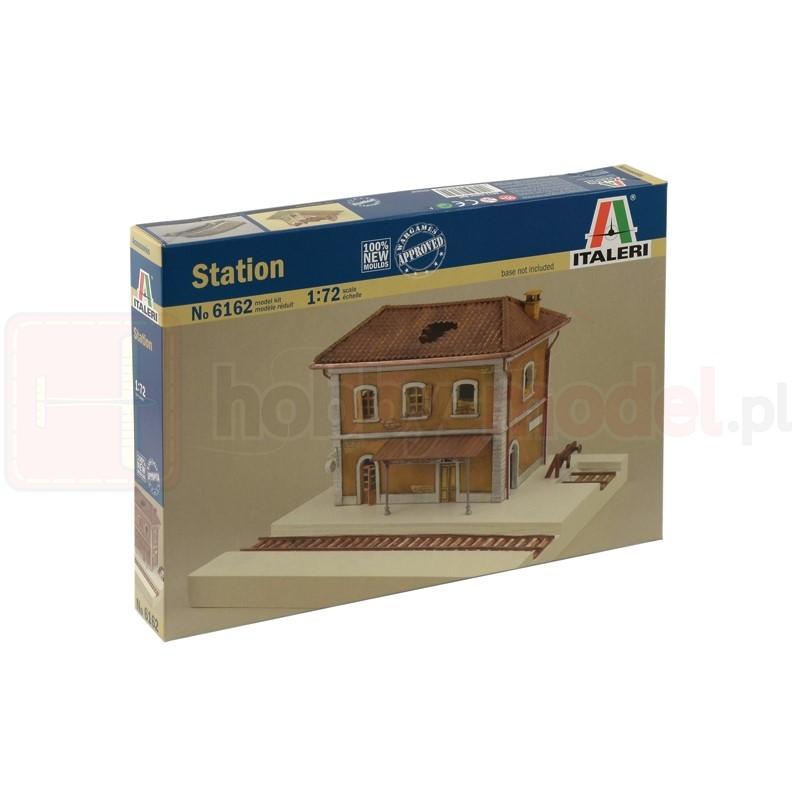 ITALERI 6162 Akcesoria Dworzec kolejowy