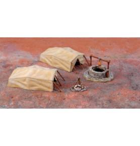 ITALERI 6148 Akcesoria Pustynia i namioty
