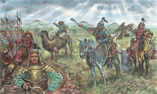 ITALERI 6124 Figurki Mongolska kawaleria