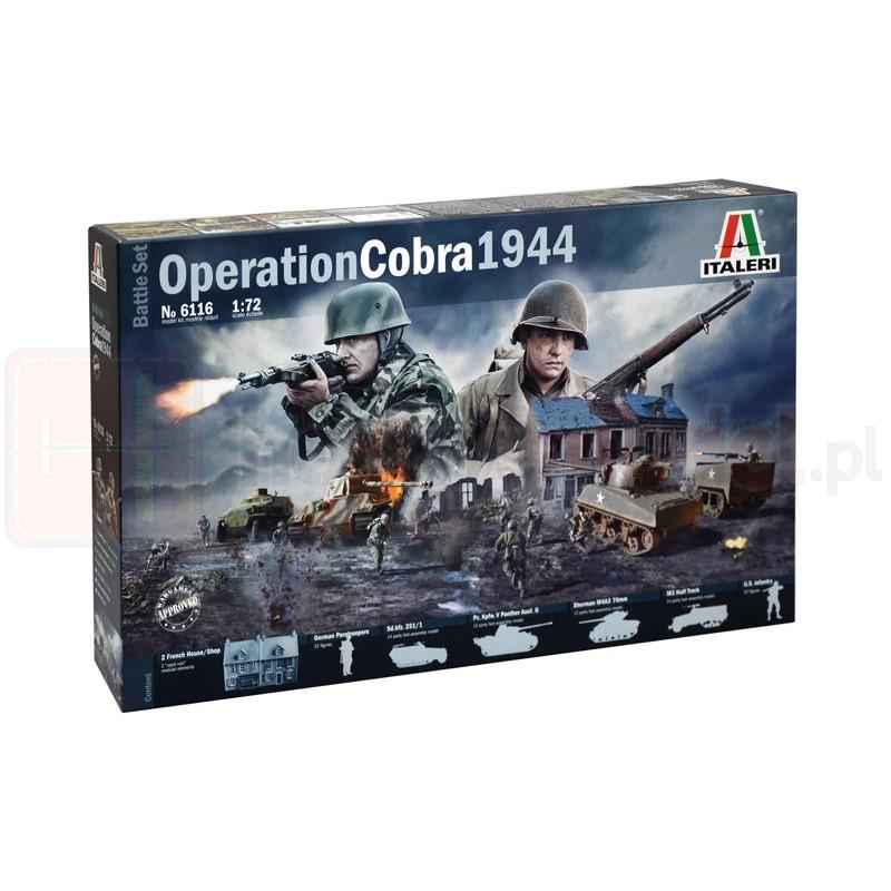 ITALERI 6116 Akcesoria Operacja Cobra 1944