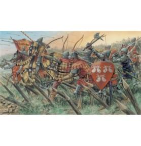 ITALERI 6027 Figurki Angielscy rycerze i łucznicy