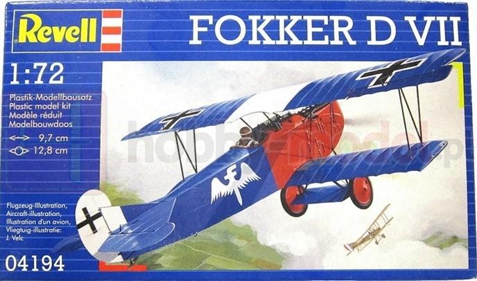 REVELL 04194 Myśliwiec Fokker D. VII