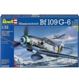 REVELL 04665 Myśliwiec Messerschmitt Bf109 G-6