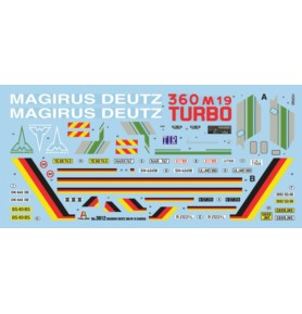 ITALERI 3912 Ciężarówka Magirus-Deutz 360M19 Canvas