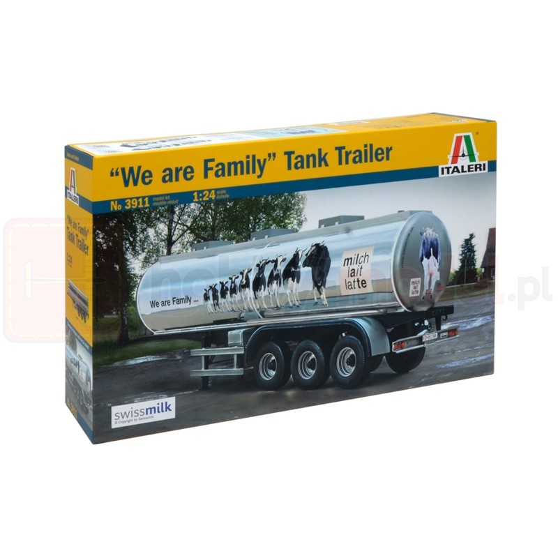 "ITALERI 3911 Cysterna Classic Tank Trailer ""We are family"""