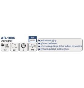 ADLER AB-1006 - Dysza 0,3 mm