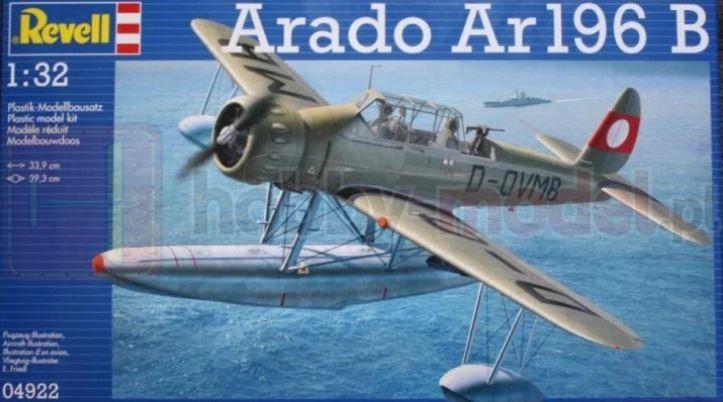 REVELL 04922 Wodnosamolot Arado Ar196B