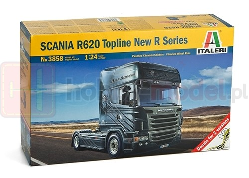 ITALERI 3858 Ciągnik SCANIA R620 V8 New R Series