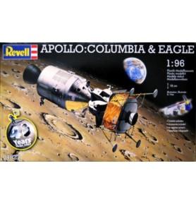 REVELL 04827 Apollo: Columbia & Eagle (zestaw)