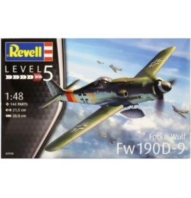 REVELL 03930 Samolot myśliwski Focke Wulf FW-190 D-9