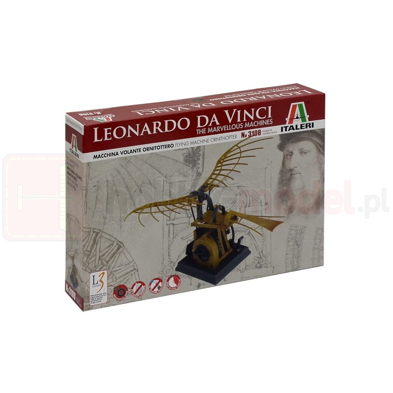 ITALERI 3108 Leonardo Da Vinci Skrzydłowiec