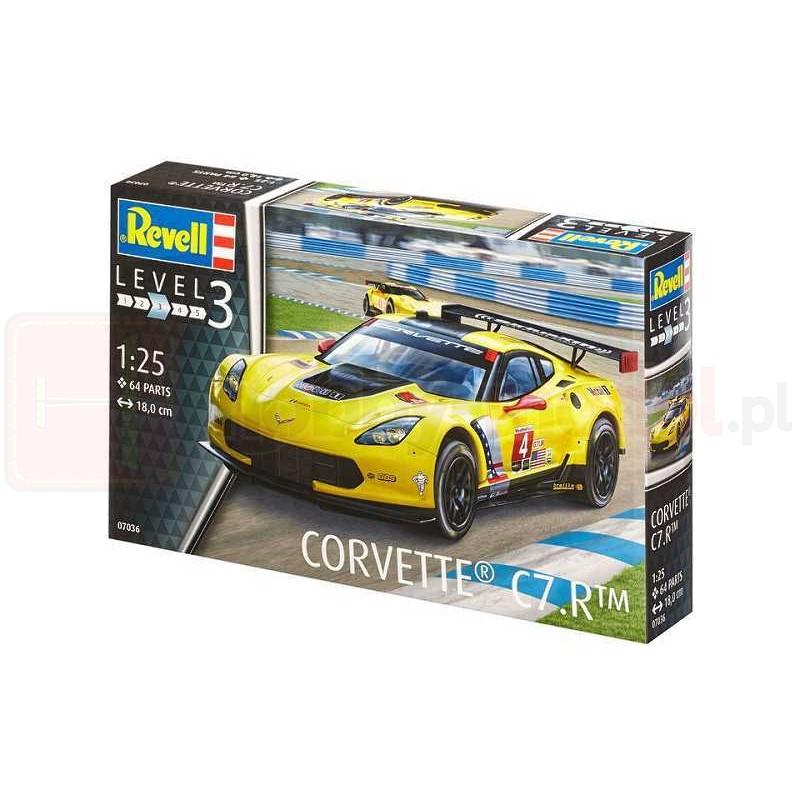 REVELL 07036 Samochód sportowy Corvette C7.R