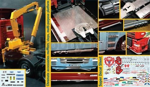 ITALERI 3854 Akcesoria do samochodów ciężarowych