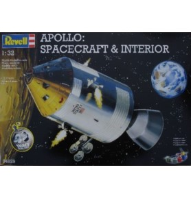 REVELL 04829 Apollo: Spacecraft and interior