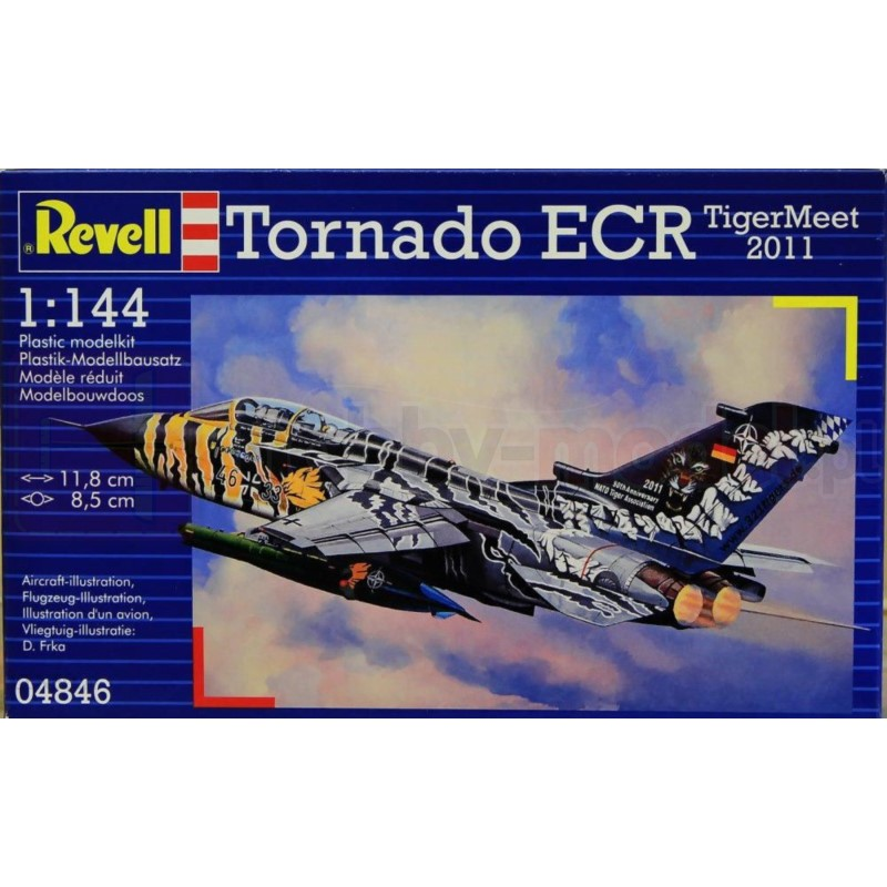REVELL 04846 Odrzutowiec Tornado ECR Tigermeet 2011