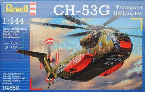 REVELL 04858 Śmigłowiec transportowy Sikorsky CH-53 G