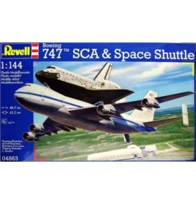REVELL 04863 747 SCA & Space shuttle (zestaw)