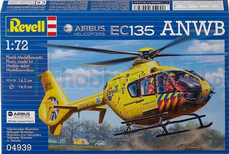 REVELL 04939 Lekki śmigłowiec wielozadaniowy Eurocopter EC135 ANWB