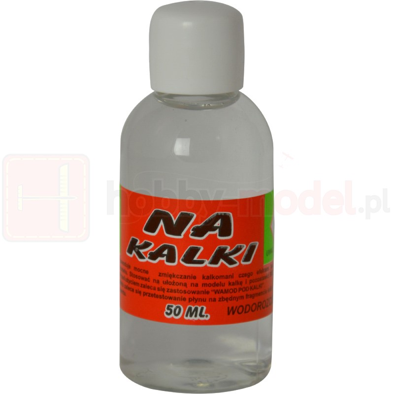 WAMOD Płyn do Kalkomanii NA KALKI 50 ml