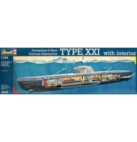 REVELL 05078 Okręt podwodny U-Boat XXI U2540