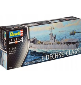 "REVELL 05139 Okręt desantowy German LSM ""Eidehse-Klasse"""