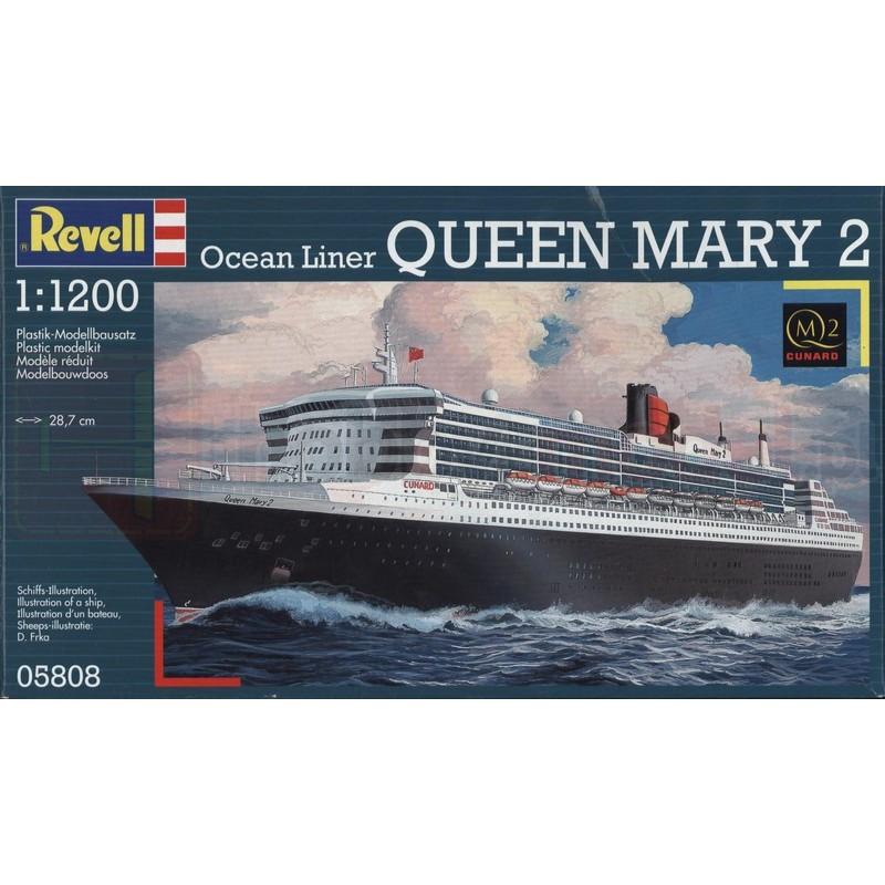REVELL 05808 Liniowiec transatlantycki Queen Mary 2