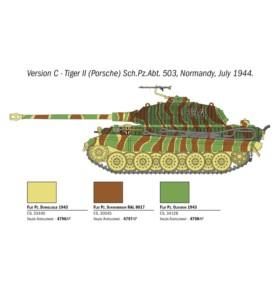 ITALERI 15765 Czołg Sd. Kfz. 182 Tiger ll