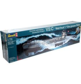 REVELL 05015 Okręt podwodny U-Boot Typ VII C