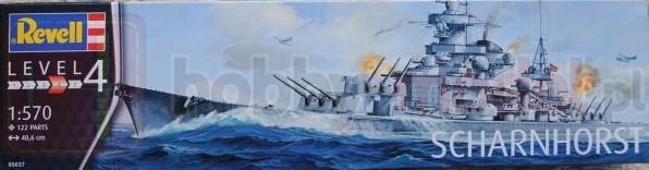 REVELL 05037 Pancernik Scharnhors