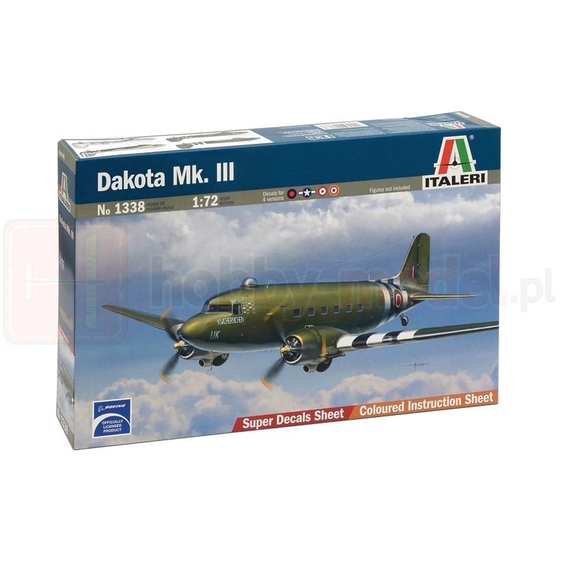 ITALERI 1338 Transportowy Dakota Mk. III