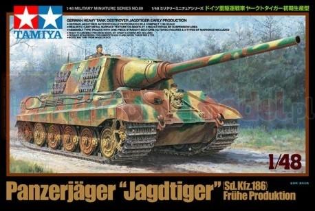 TAMIYA 32569 niemiecki, ciężki niszczyciel German Destroyer Jagdtiger - Early Production 1:48