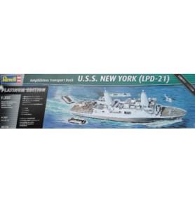 REVELL 05118 Okręt desantowy U.S.S. New York LPD-21