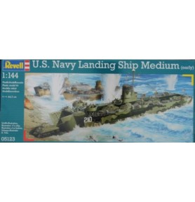 REVELL 05123 Okręt desantowy U.S.Navy Landing Ship Medium (LSM)