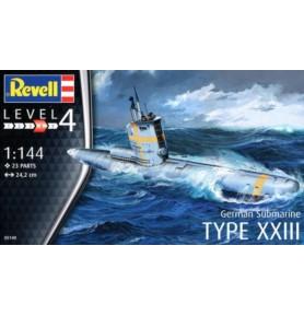 REVELL 05140 Okręt podwodny U-Boot Typ XXIII