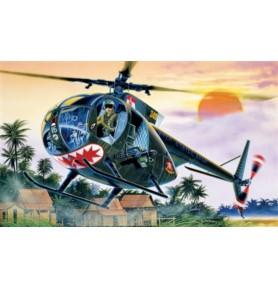 ITALERI 1028 Śmigłowiec OH-6 A Cayuse