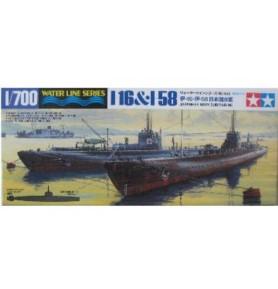 TAMIYA 31453 Okręt I-16/I-58