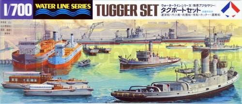 TAMIYA 31509 Zestaw łodzi holowniczych