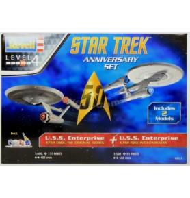 REVELL 05721 Star Trek 50 anniversary (zestaw)
