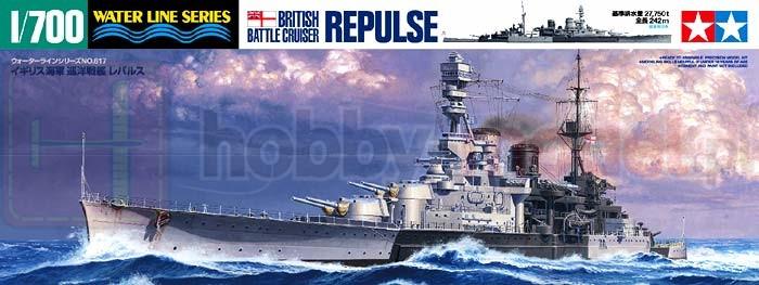 TAMIYA 31617 Krążownik Repulse