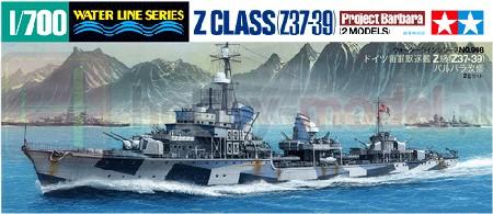 TAMIYA 31908 Niemiecki niszczyciel klasy Z
