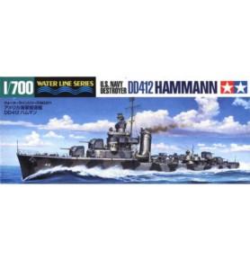 TAMIYA 31911 Niszczyciel USS Hammann (DD412)
