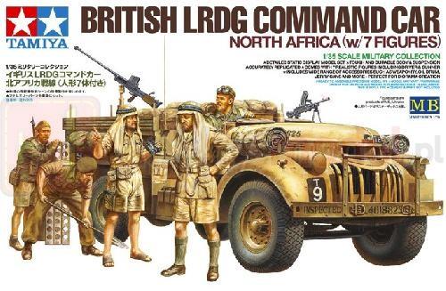 TAMIYA 32407 Figurki Brytyjski samochód dowodzenia LRDG