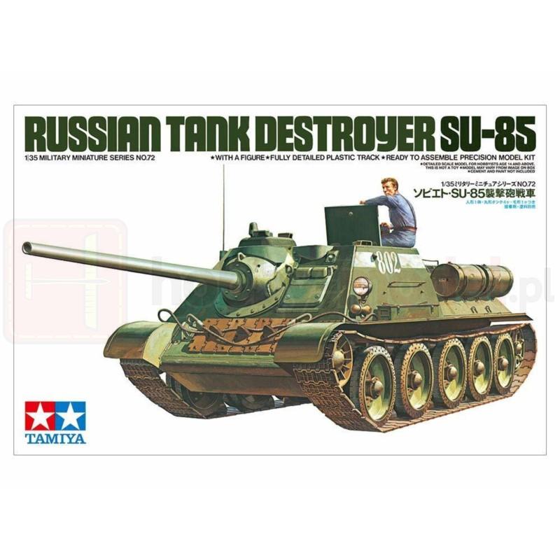TAMIYA 35072 Działo SU-85
